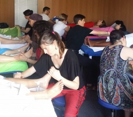 Formation Réflexologie 2016 Versailles - Cycle intensif 2nd semestre