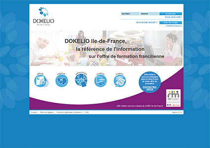 Dokelio systeme national information offre formation