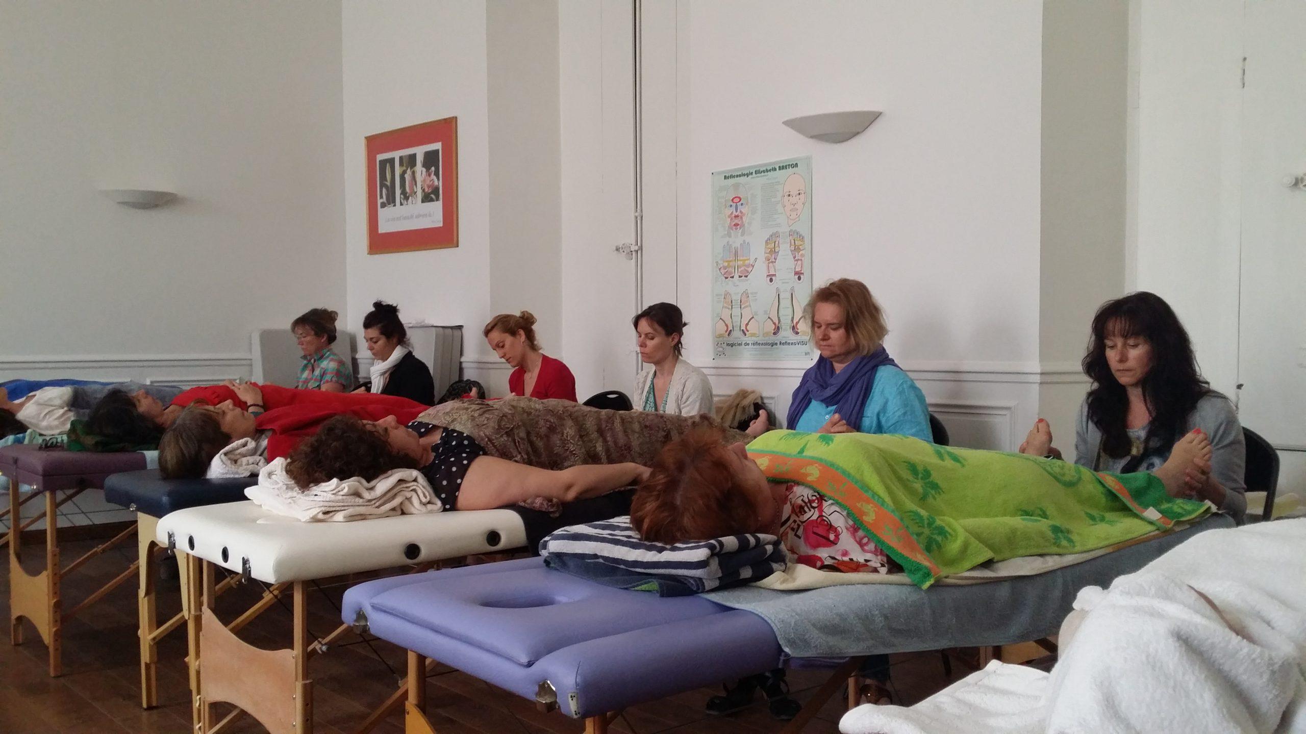 Formation Réflexologie neuro-réflexes plantaires Versailles 2015