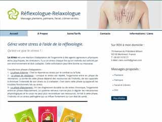 Clémentine North - Réflexologue Montreuil