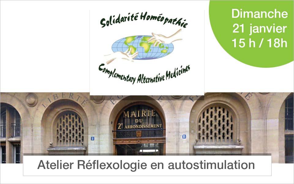 Atelier Réflexologie Mairie de paris