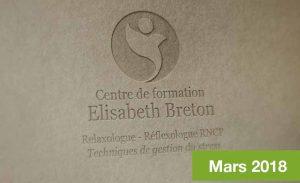 Lettre d'information Réflexologie - Mars 2018