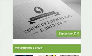 Lettre d'information Reflexologie - Septembre 2017