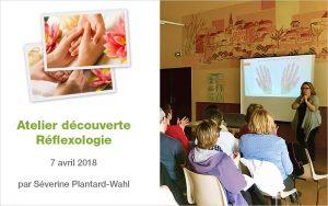 Atelier Découverte de la Réflexologie (palmaire, plantaire, faciale)
