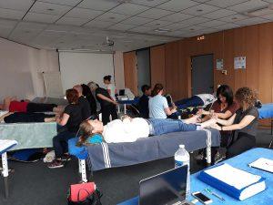 Formation relaxologue-réflexologue Versailles - juin 2018