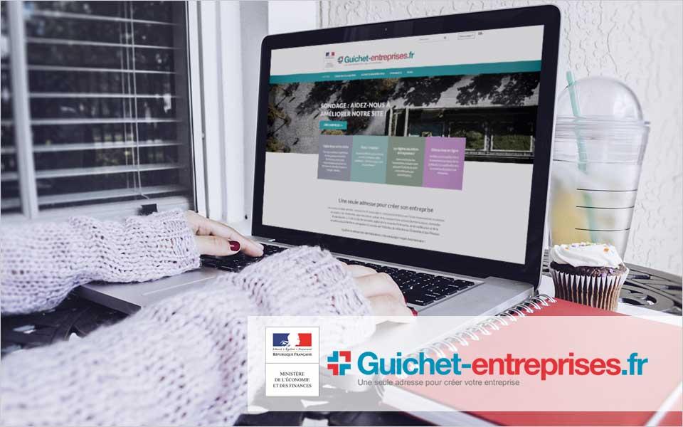 Site guichet entreprise - Réflexologie