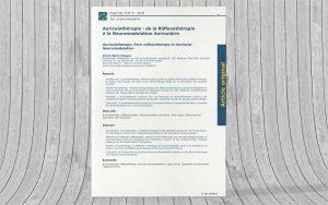 Auriculothérapie : de la Réflexothérapie à la Neuromodulation Auriculaire