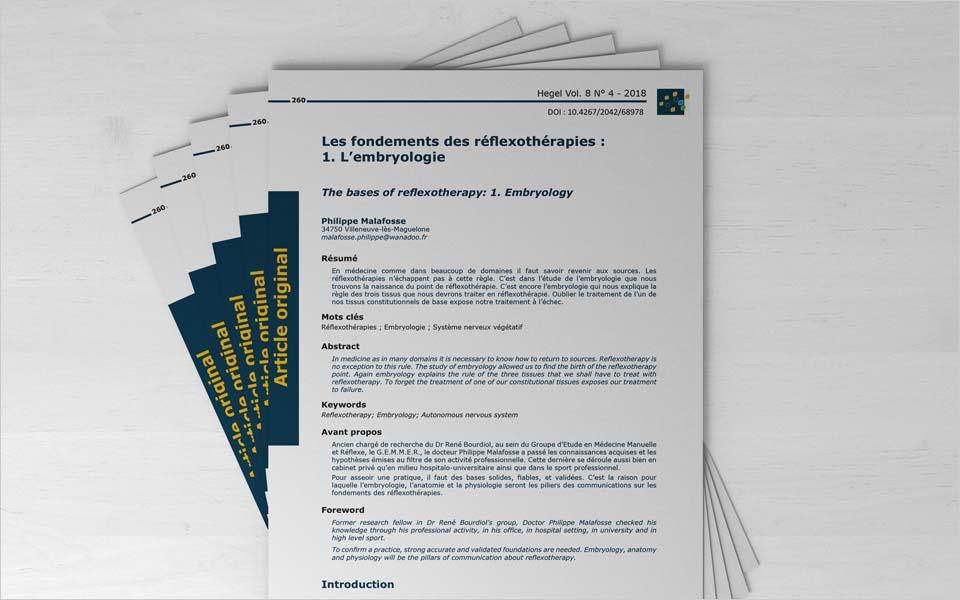 reflexotherapies embriologie