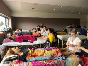 Formation de relaxologue-réflexologue, en partenariat avec le centre LSBE, groupe à Troyes