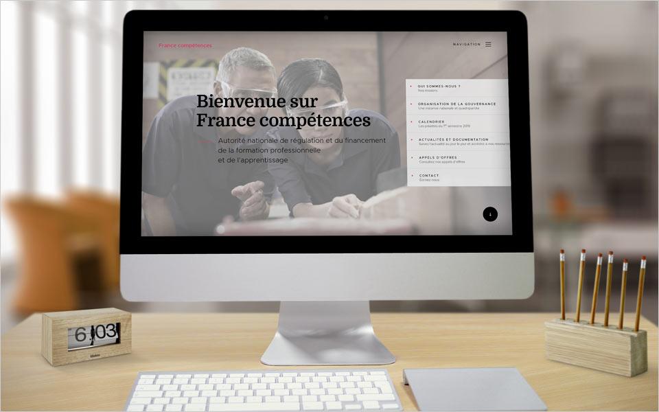 Site internet France Compétences