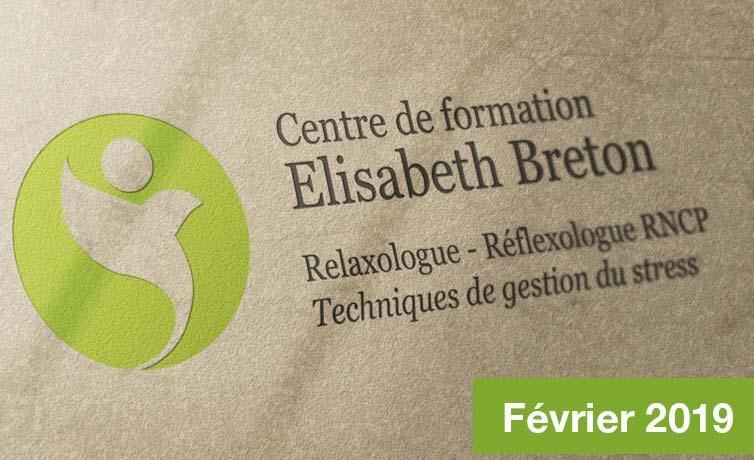 Lettre d'information Réflexologie - E. Breton
