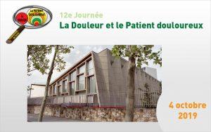 [Rappel] 12e Journée de l'Ouest Parisien sur la Douleur, le 4 octobre 2020