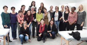 Groupe élèves - Réflexologues