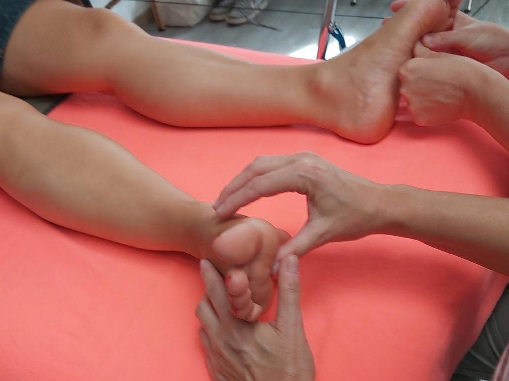 pieds et mains